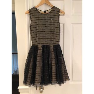 Red Valentino Black Cocktail Dress size Small